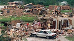 Hurricane Andrew - some of the devastation in Florida