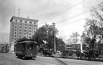 Pensacola Streetcar - ca. early 1900s.we