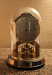 Schatz - 1000 Day Clock - Ball Pendulum   - Round Case - (circa 1955)