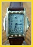 Pierpont - Stepped Pyramid Style Tank 10K RGP Case - Swiss 17 Jewel Mechanical Wind Movement Wristwatch - (circa 1930s)