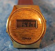Timex - Early Digital Quartz with LCD Display Wristwatch - (circa 1970s)