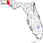 Walton County map.png
