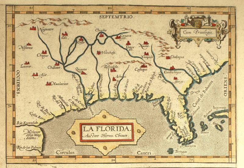 La Florida - Cum Privilegio - 1584