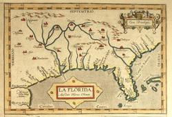La Florida - Cum Privilegio - 1584