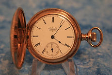 Elgin National Watch Co.- Full Hunters Yellow Gold Filled Case - 6 Size – Pocket Watch - (circa 1892)