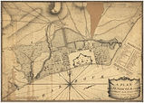 Pensacola - A plan (actual survey) - Purcell, Joseph - 1778