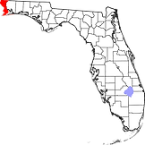 Escambia County map.png
