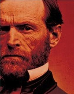 General William T. Sherman portrait - partial