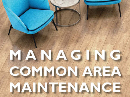 Managing Common Area Maintenance