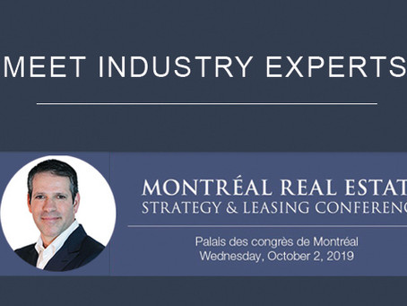 Robert Cressaty Moderates Industrial Real Estate Panel at the Montreal Real Estate Conference