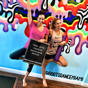 Look who stopped by today! We got yoga,