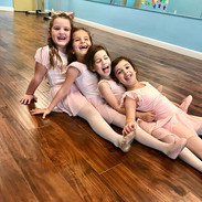 All smiles in ballet class! Registration
