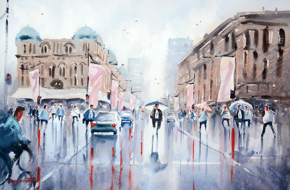 Rainy Day George Street