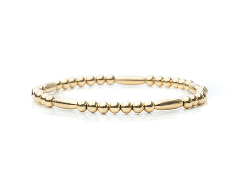 Oval Bead Bracelet