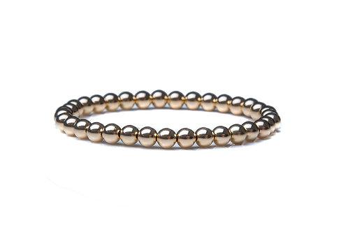 14kt Gold Filled 5mm Bead Bracelet