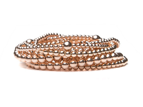 Rose Gold Marcy Stack