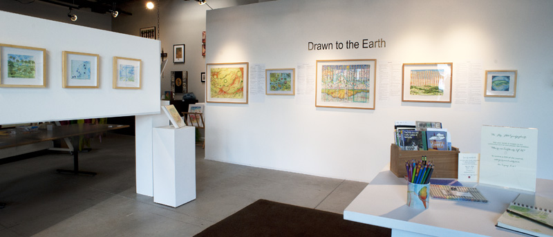 Drawn to the Earth