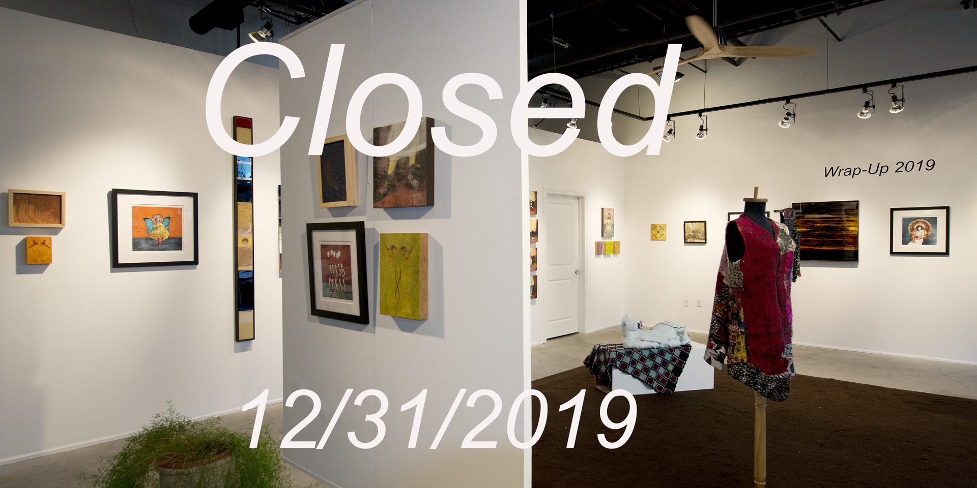 Gallery closed 12/31/2019