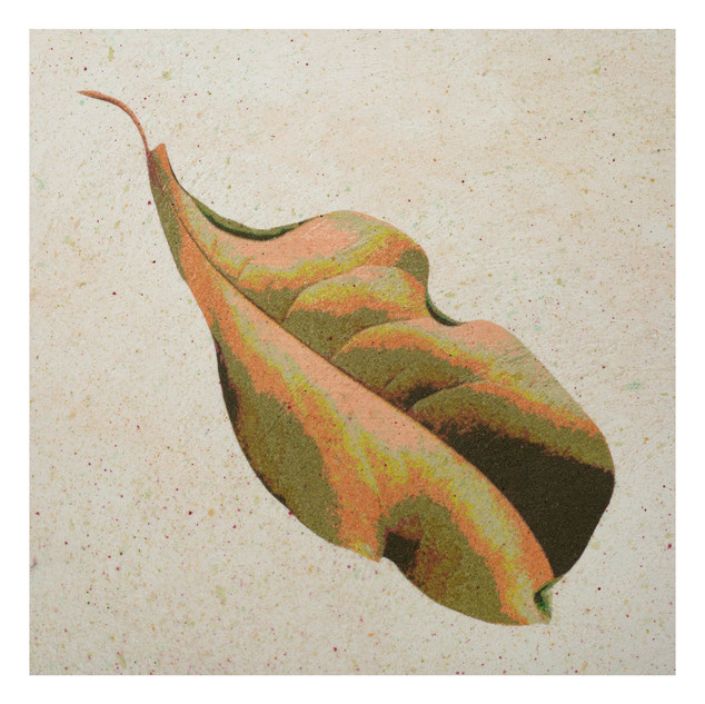 Summer Magnolia leaf 10x10