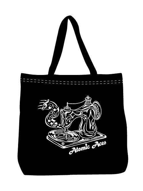Sew Rockin' Tote bag - Black