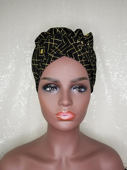 Black Diamond Satin-lined Bonnet-Wrap