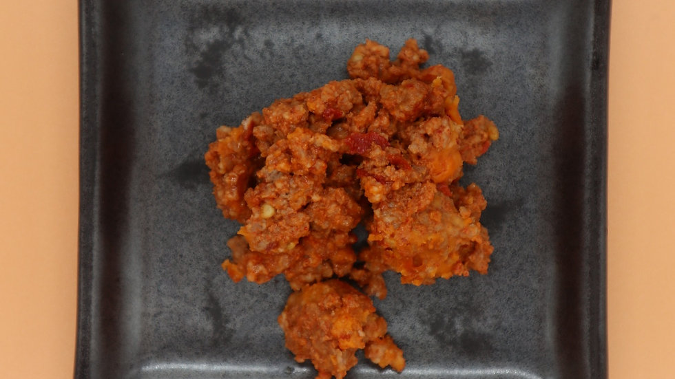 Topping Minced spicy pork