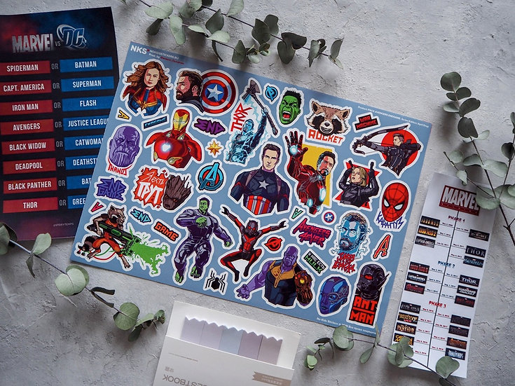 Стикерпейдж NKS Avengers