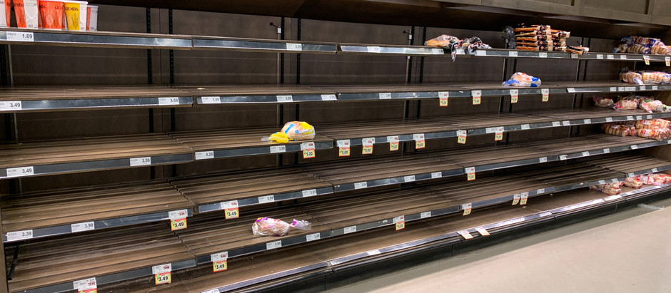 Smart Shopping During Food Shortages