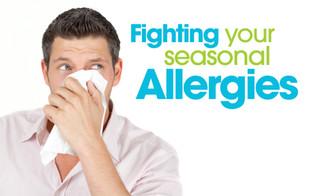4 simple tricks on how to get rid of seasonal allergies.
