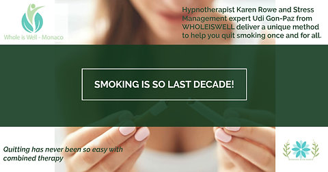Stop Smoking combined Therapy package