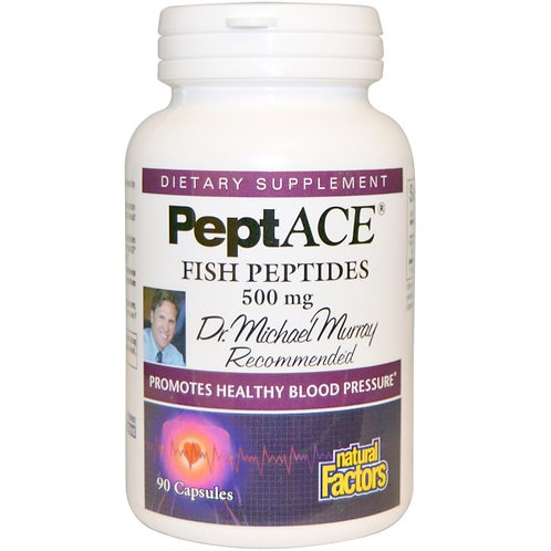 PeptAce , 500mg, 90 capsules