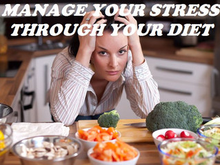 Get your stress under control with the help of your diet.