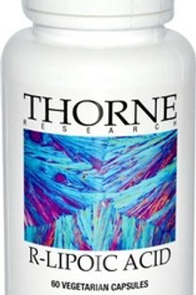 Thorne Research, R-Lipoic Acid, 60 Vegetarian Capsules
