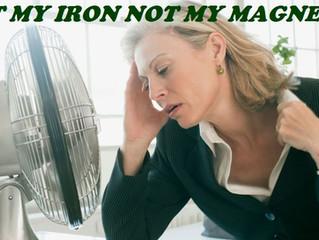 Iron deficiency in menopausal women