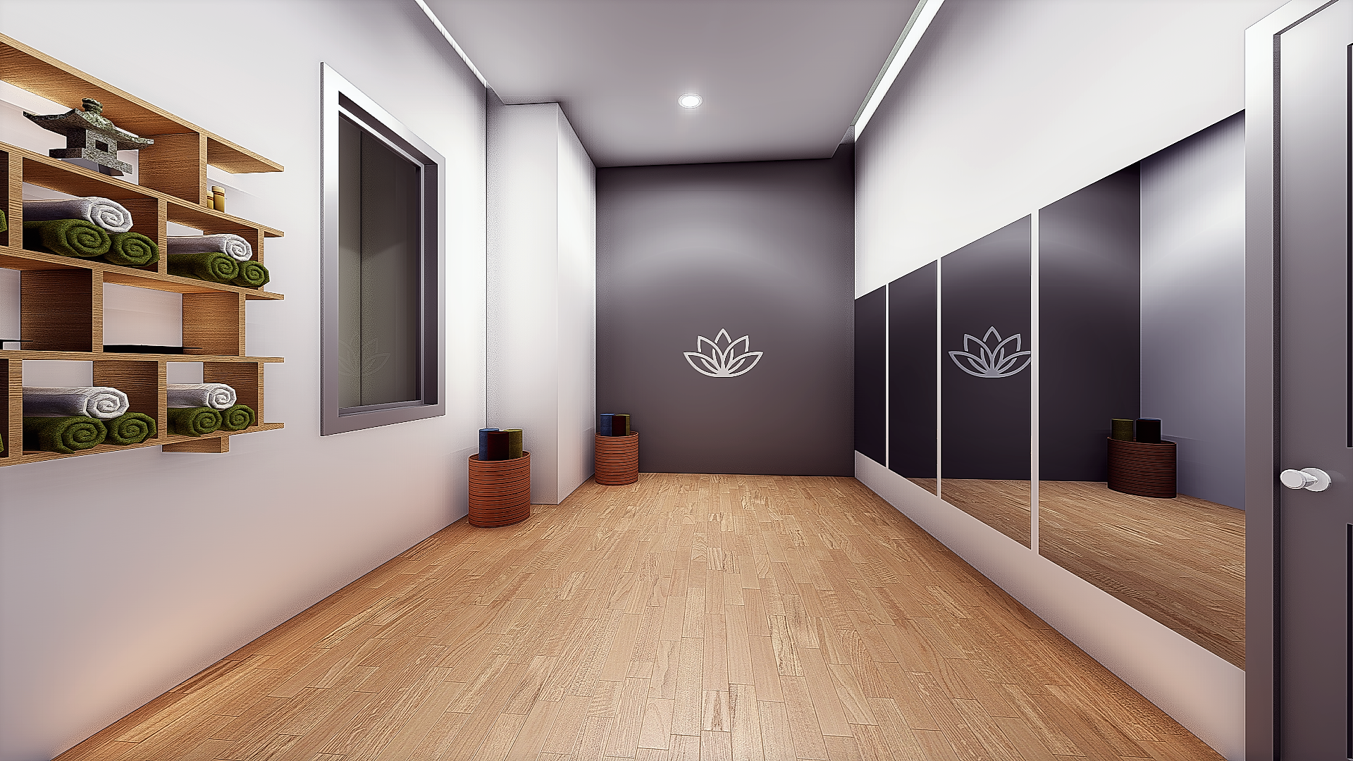 The George - Yoga Room