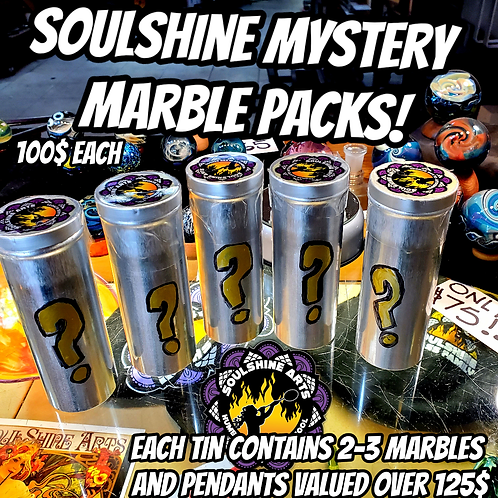 Limited edition Mystery marble pack!