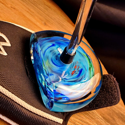 Undersea blues golf putter (right handed shaft)
