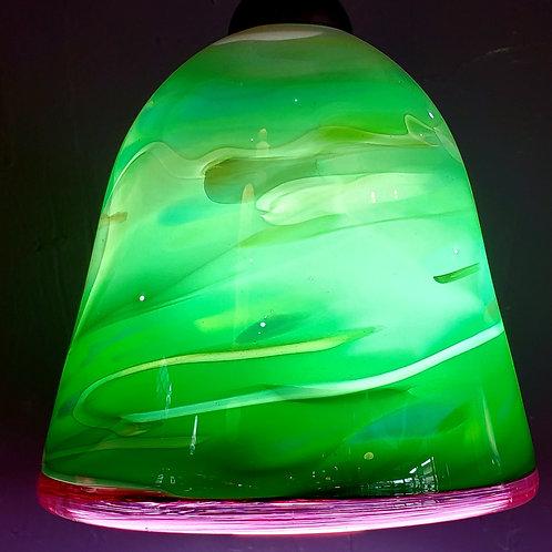 Light emerald greens  7x6.5