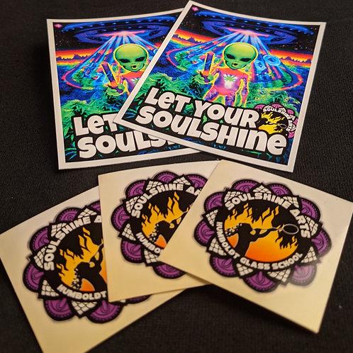 Soulshine Sticker Pack