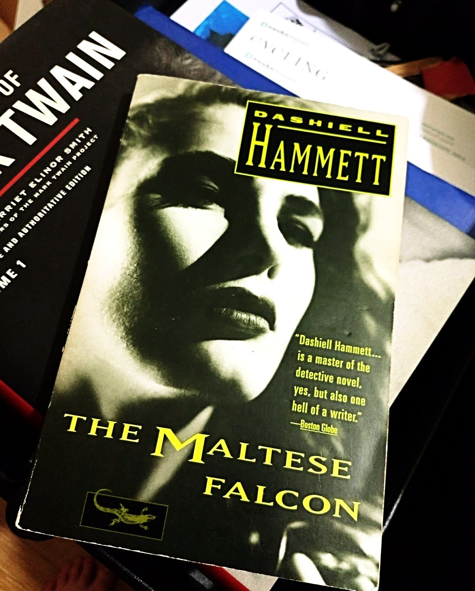 The novel: The Maltese Falcon