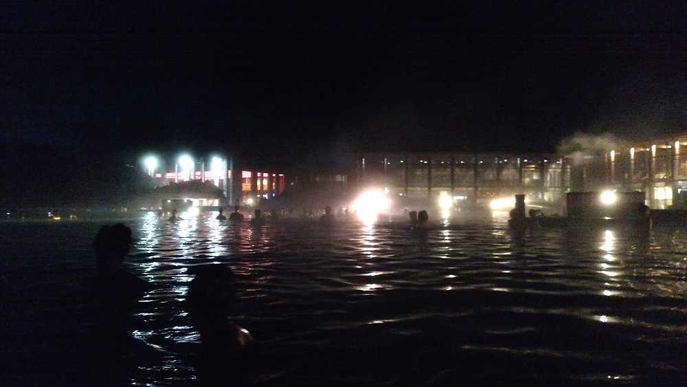 Night at the Blue Lagoon