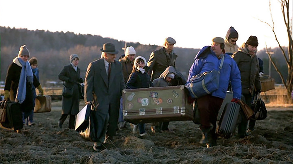 Scene from Planes, Trains, and Automobiles