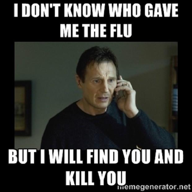 Taken by The Flu