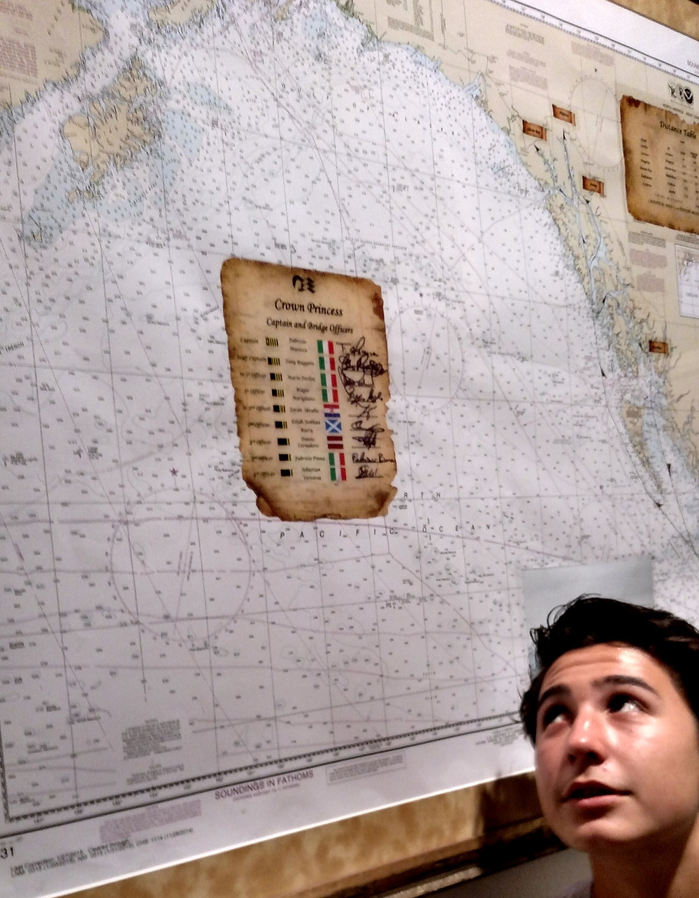 Slade with Map