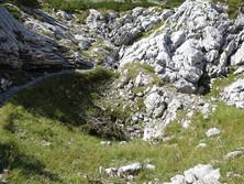 Kleine Doline am Krippenstein 1