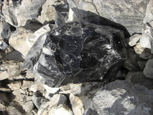 Obsidian in Oregon