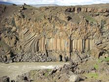 Säulenbasalt auf Island 4