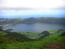 Caldera auf den Azoren 1