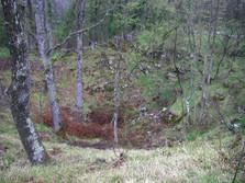 Doline im slowenischen Karst