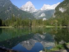 Großer Priel (Totes Gebirge) mit Schiederweiher